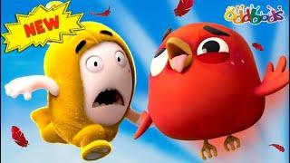 Oddbods | JEFF E ANGRY BIRD | Cartoni Animati Divertenti per Bambini