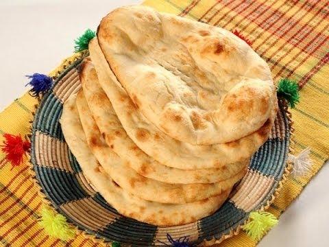 Naan without Tandoor - Tawa Naan with English subtitles | My kitchen My Dish