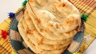 Naan without Tandoor - Tawa Naan with English subtitles