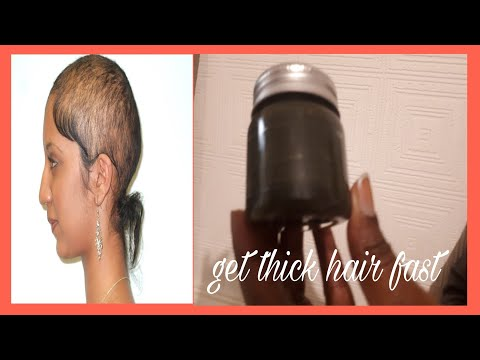 HOW TO GET THICKER HAIR NATURALLY