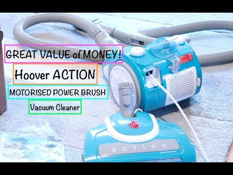GREAT VALUE!Hoover ACTION Power Brush Bagless Vacuum Cleaner  Review (CHEAP)