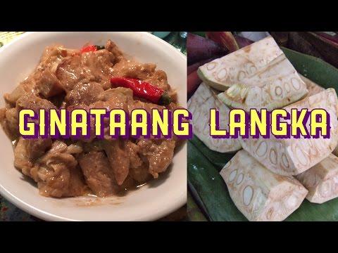 How to Cook Ginataang Langka (In Aklanon and English)