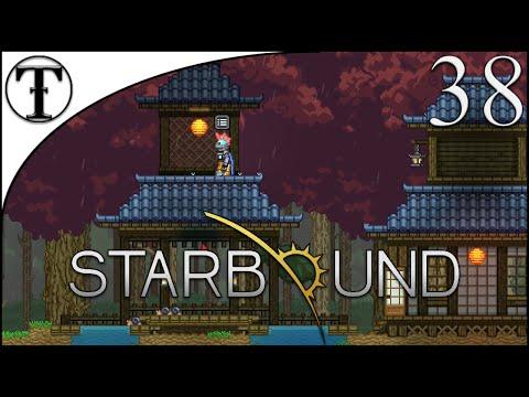 Oriental Steampunk Colony Part 1 : Oriental Village :: Starbound Episode 38