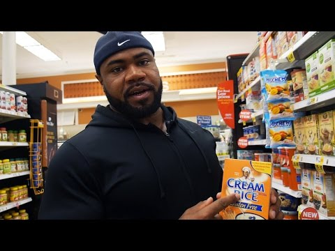 Pro Bodybuilder Food Shopping: Tells You What Not To Eat