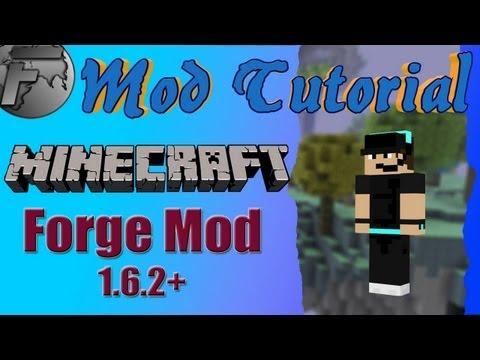 Minecraft Mod Tutorial - Forge Mod 1.6.2 - Installationsanleitung ohne Installer