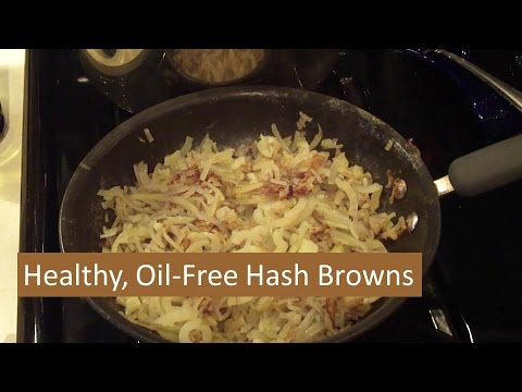 Healthy Hash Browns - No Oil Added