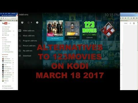 Alternatives to 123Movies on Kodi March 18 2017 C Movies & Yes Movies