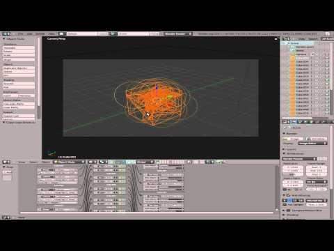 Smash an Object on Collision - Blender 2.5 - Blender 3D - Linux