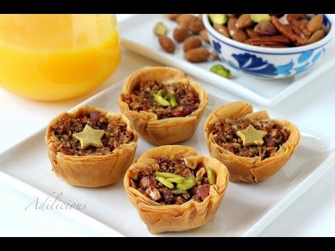 Easy and Quick Baklava | Mini Baklava Bites