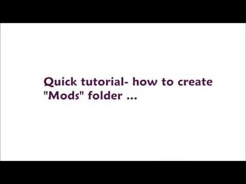 The Sims 3 - Quick tutorial - How to create Mods folder