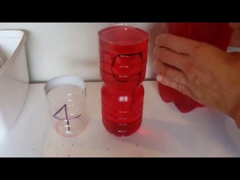 How to Measure 6 Litres, with a 4 Litre and 9 Litre Container - Step by Step Instructions - Tutorial
