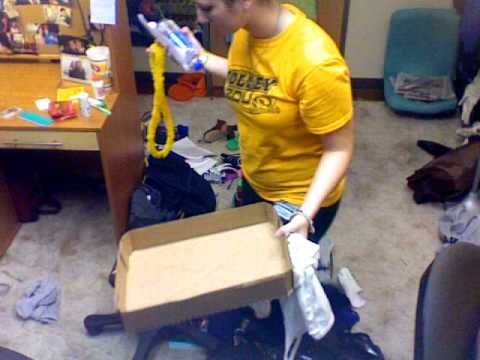 World's Fastest Dorm Room Cleaning