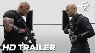 Velozes & Furiosos: Hobbs & Shaw – Trailer 2 (Universal Pictures) HD