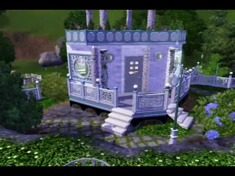 Sims 3 Garden - Sunken Gardens of China