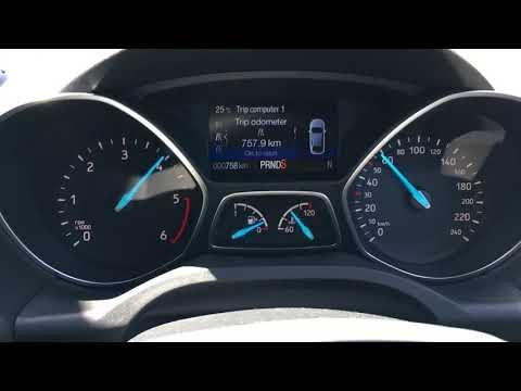 2017 Ford Escape 2.0L TDCi 0-100 km/h acceleration test