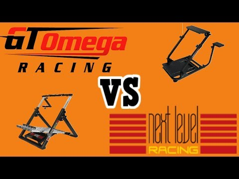 GT Omega Race wheel stand vs stand NEXT LEVEL Race wheel stand