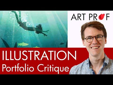 Art Critique: Illustration Portfolio / ART PROF