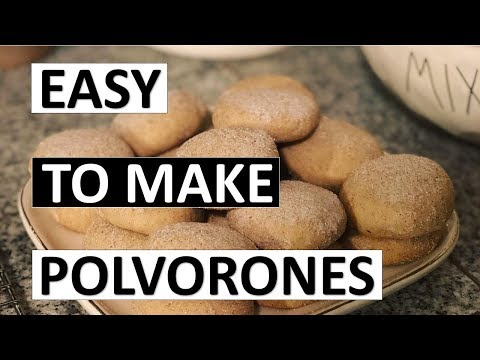How to Make | Christmas Cookies pt. 1: Polvorones
