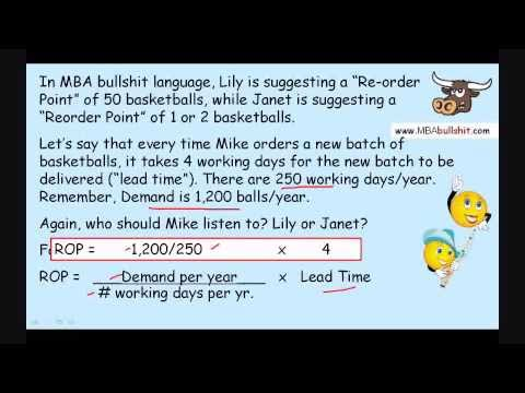 Reorder Point Calculation  in 7 minutes: ROP