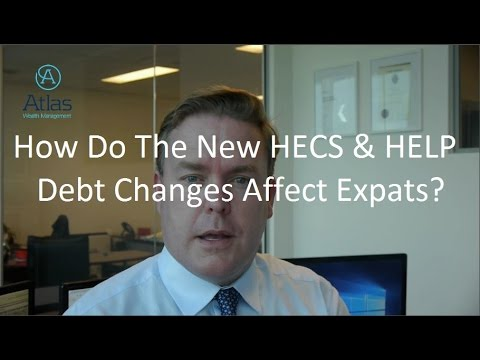 How Do The New HECS and HELP Debt Changes Affect Expats