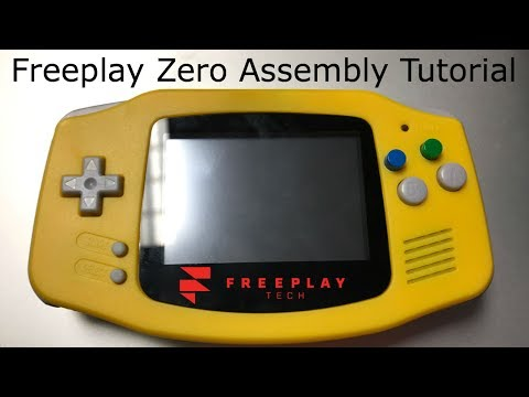 Freeplay Zero [Game Pie Advance] Full Build (GPA HowTo) Assembly Tutorial