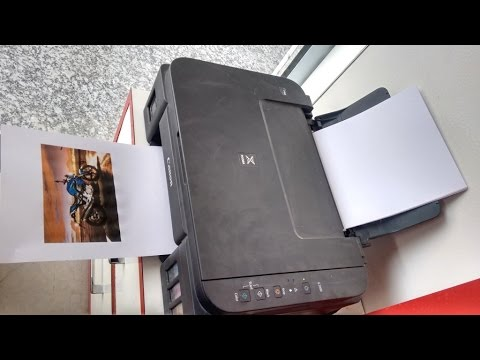 Print Testing of Canon Pixma G2000 Color Printer (Standard,High,Photo)