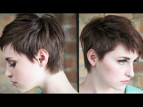 How To Cut Highly Textured Fringe/Bangs With a Razor