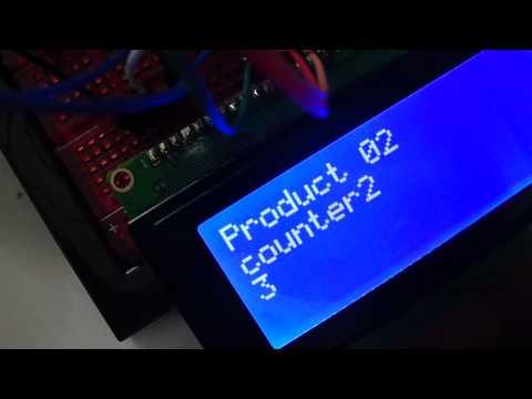 Arduino 5 button counters