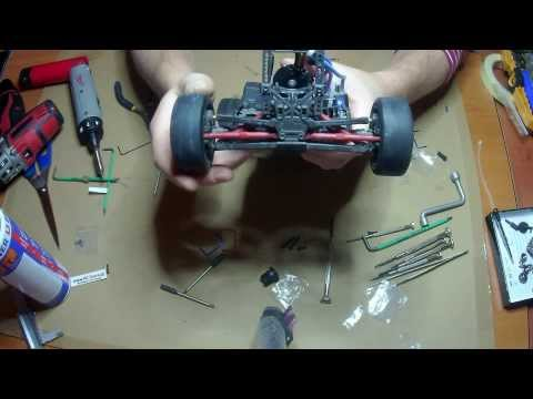 Hot Racing sway bar VXS311X01 (anti roll bar) Installation, all Traxxas 1/16 models E-Revo VXL