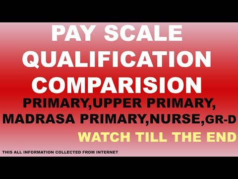 pay scale qualification comparison between west bengal employee by ABOUT TECHNICAL
