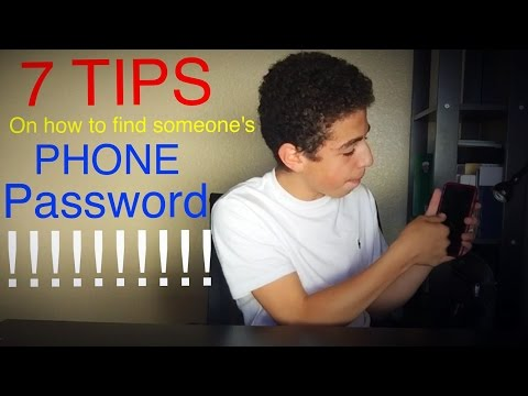 7 TIPS ON HOW TO FIND SOMEONE'S PHONE PASSCODE