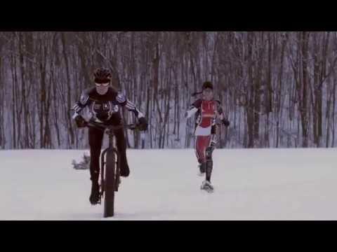 Oxygen Project - Scene 020 – Snowshoeing vs Fatbike Showdown