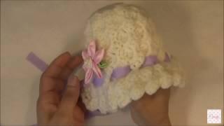 Crochet   Gorro de Bebe   2. Parte 1 de 2 - PlayItHub Largest Videos Hub db197ccd985