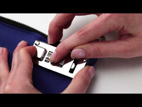 How to Set Tumbler Combination for Vaultz® Locking Bag