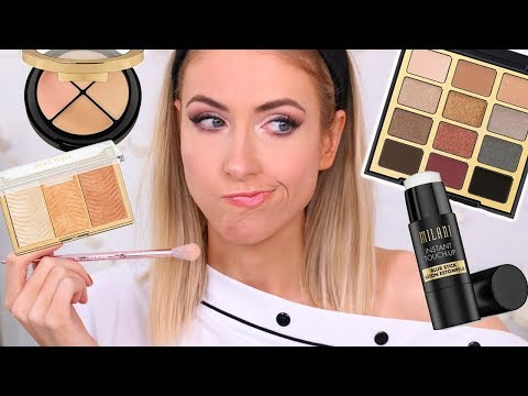 Full Face Testing NEW DRUGSTORE MAKEUP from Milani... Is It Any Good??