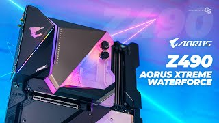 AORUS Z490 XTREME WATERFORCE: First Look and Overview