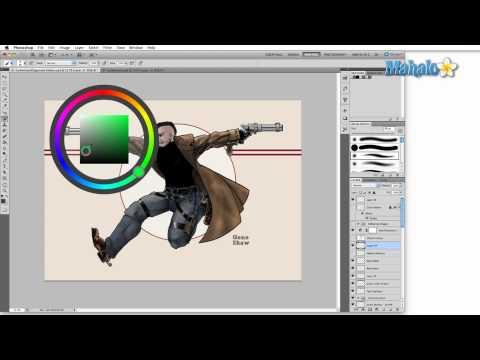Learn Adobe Photoshop - Beginner Tip: HUD Color Picker