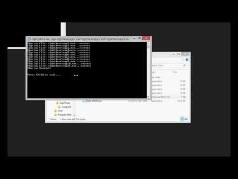 Code Signing with the DigiCert Certificate Utility for Windows