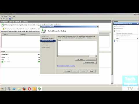 Create Backup of Exchange Server 2010