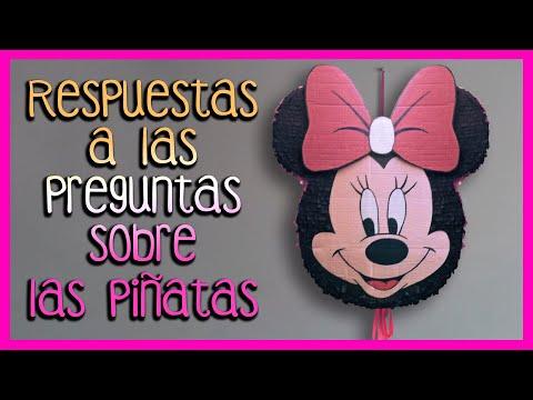 Respuestas a piñata de Minnie Mouse