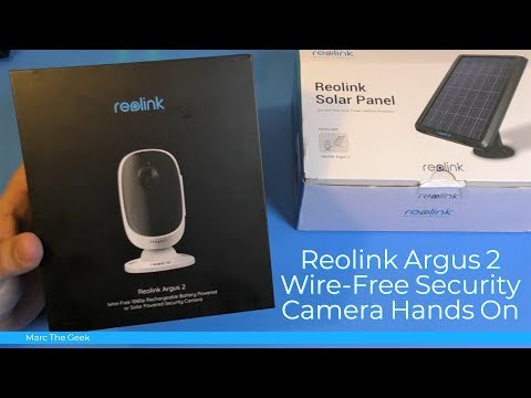 Reolink Argus 2 Wire-Free Security Camera Hands On