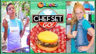"Chef Set Go ""The CRUSH Burger Challenge"" 