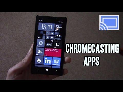 Best Chromecast Apps on Windows Phone