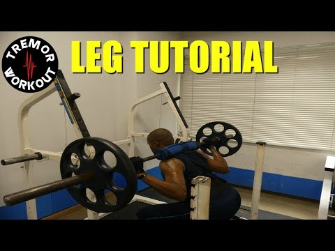 How To Work Out Your Legs