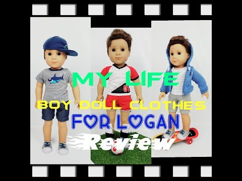 My Life Boy Doll Clothes for Logan Opening & Review