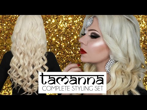 TAMANNA COMPLETE STYLING SET - Tutorial and Unboxing - Bombay Hair