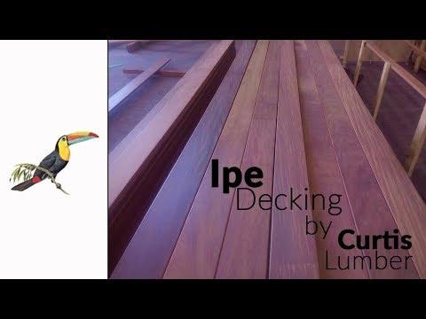 Ipe Decking - Tigerwood Ipe Decking Bamboo Decking