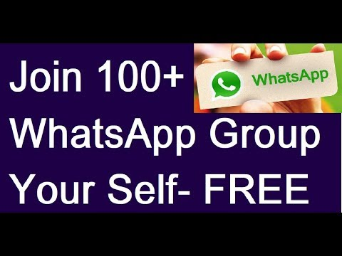 WhatsApp Trick- Join any WhatsApp Group by Your Self