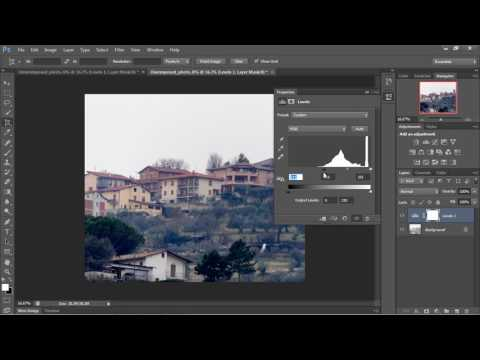 Photoshop Tutorial for Beginners - 04 - Using the Levels Tool Part 2