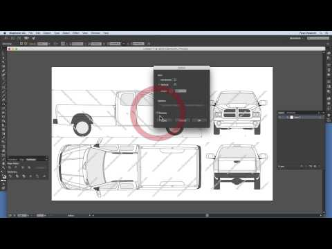 How To Set Up A Vehicle Wrap Design File